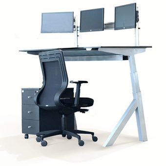 AngelShack - Desk Systems - Height Adjustable - A-FRAME