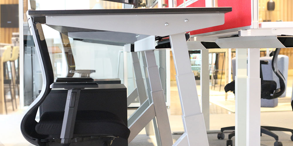 AngelShack - Desk Systems - Height Adjustable - A-FRAME