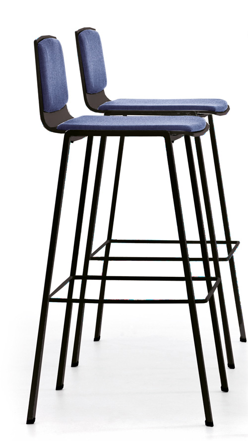 AngelShack - Seating - PARTLY UPHOLSTERED BAR STOOL