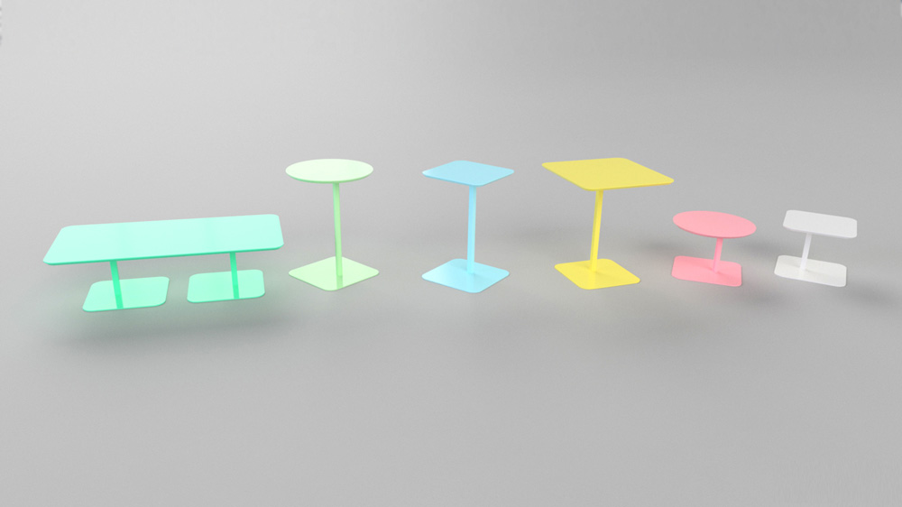 AngelShack - Tables - Cafe Tables - BISTRO COCKTAIL