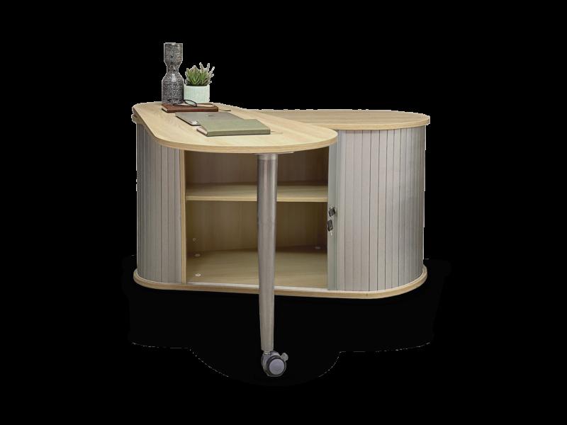home desk - slide